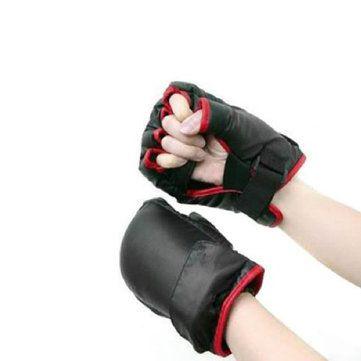 Only US$10.99 , shop Mens Fingerlass Boxing Gloves Wii Fit Game Remote Nunchuck Controller Sport Gloves at Banggood.com. Buy fashion Scarves & Gloves online.