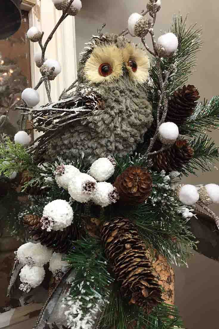 Owl Floral Arrangement @ Trees N Trends Www.treesntrends.com