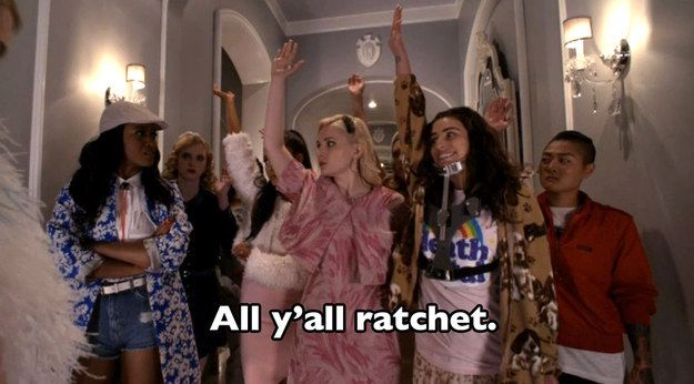 "When Zayday Williams called out her sorority sisters for being ratchet AF after they agreed to hide a body. | 16 Killer ""Scream Queens"" Premiere Quotes That Will Get You Hooked"