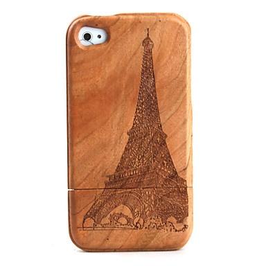 carving tower patroon houten Case voor iPhone 4 / 4s – € 15.45