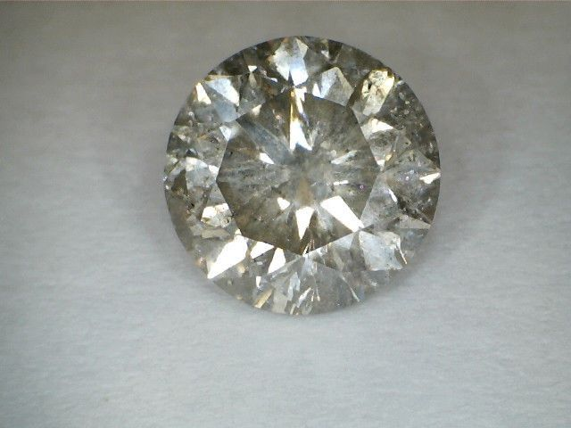 DIAMOND 1.66 CT  ROUND F SI3 EGL CERTIFIED AUTHENTIC REAL 1000%