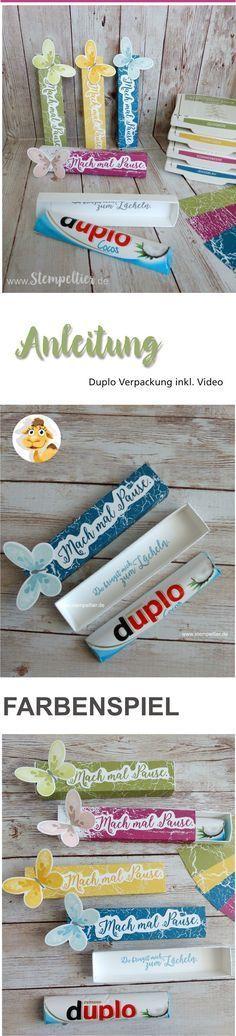 verpackung duplo stampin up papierschneider anleitung video maße farbenspiel mach mal pause trimmer
