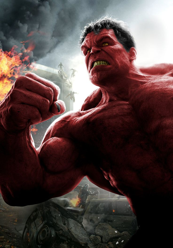 244 best images about Red Hulk. on Pinterest | Red hulk ...