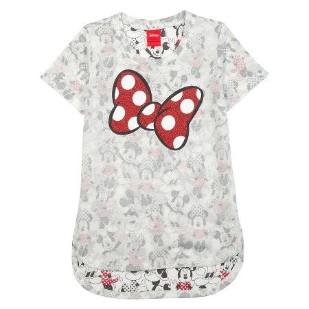 Girls' Minnie Mouse T-Shirt - White XS (4-5) : Target