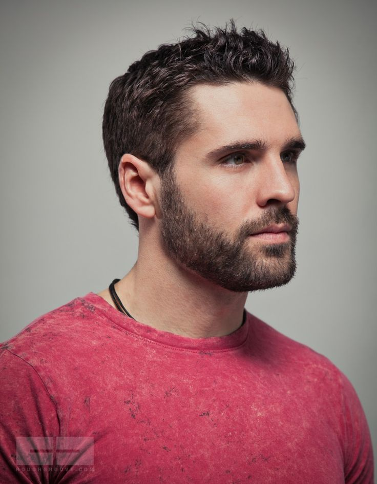 Handsome Scruffy Bearded Man Awesome Men's Hair