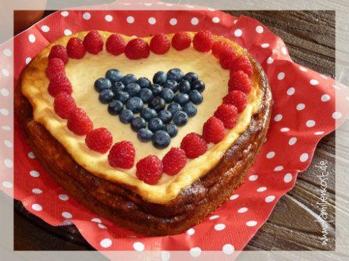 Kuchen herzform muttertag