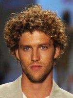 Locken Frisuren Männer Mittellanges Haar Frisuren Pinterest
