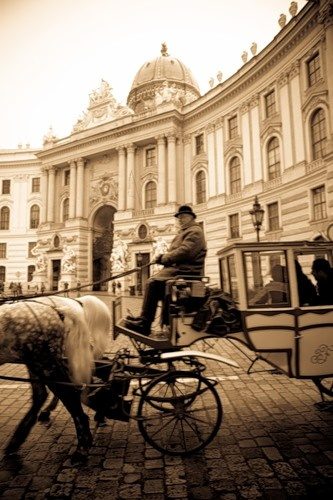 Vienna is such a royal city, both elegant and traditional. Architectural gems abound.