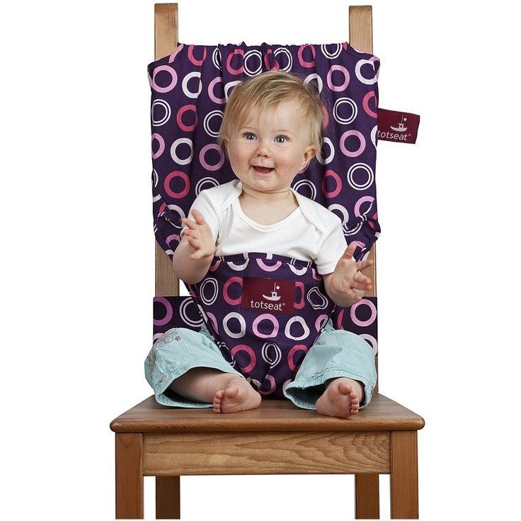 Il seggiolone tascabile Totseat rende il pranzo facilissimo, che tu sia a casa di parenti, in viaggio, in vacanza o semplicemente in movimento. Aggancia il bambino in modo sicuro alle normali sedie da adulti, Totseat si adatta a sedute di ogni forma e dimensione. Si ripiega per stare comodamente in borsa ed e' lavabile in lavatrice. E' stato progettato da una madre ansiosa in collaborazione con esperti di sicurezza, e' adatto ai bambini da 6 a 30 mesi ed e' garantito a vita. Al contrario…