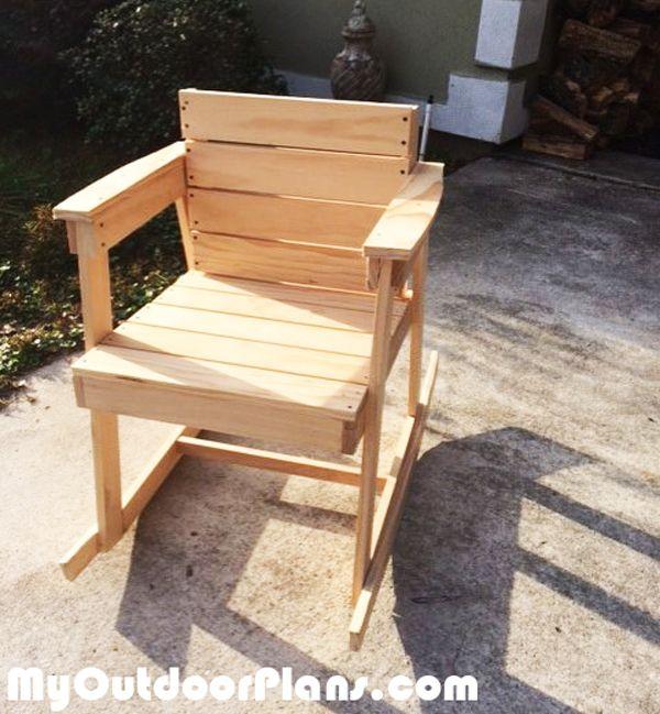 17 meilleures images propos de outdoor furniture plans - Rocking chair jardin ...
