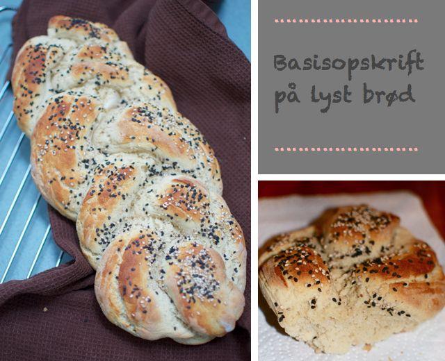 Blødt og sprødt brød med en god krumme (glutenfri)