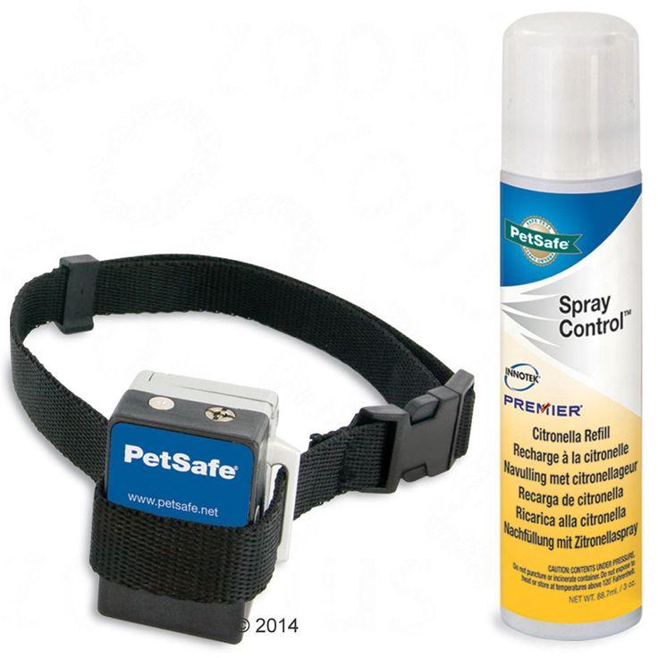 Animalerie  Collier anti-aboiement avec spray PetSafe pour chien  pile alcaline 6 V  4LR44 de rechange