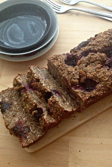 Activated Buckwheat Chia Walnut and Mulberry Loaf Recipe By Meaghan Tarrant for Loving Earth