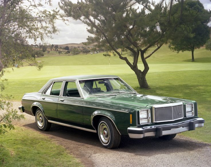 1978 Mercury Monarch 4door Sedan Ford lincoln mercury