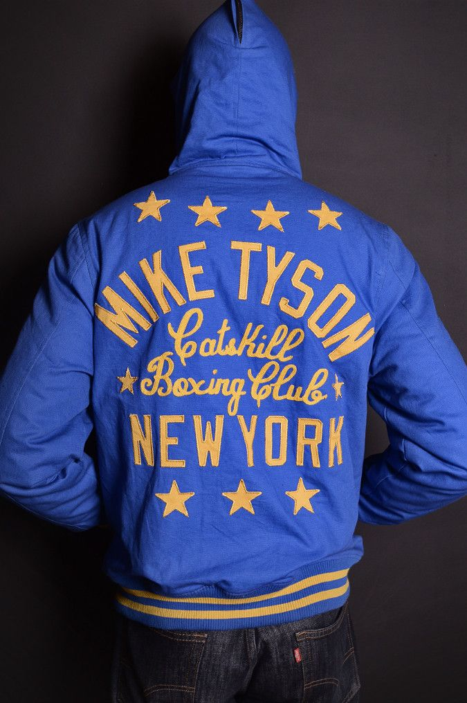 Mike Tyson Kid Dynamite Canvas Jacket | Roots of Fight