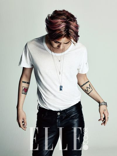 G-Dragon - Elle Magazine February Issue '14