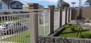 Frente de casas com grades de ferro: 16 lindos modelos                                                                                                                                                      Mais