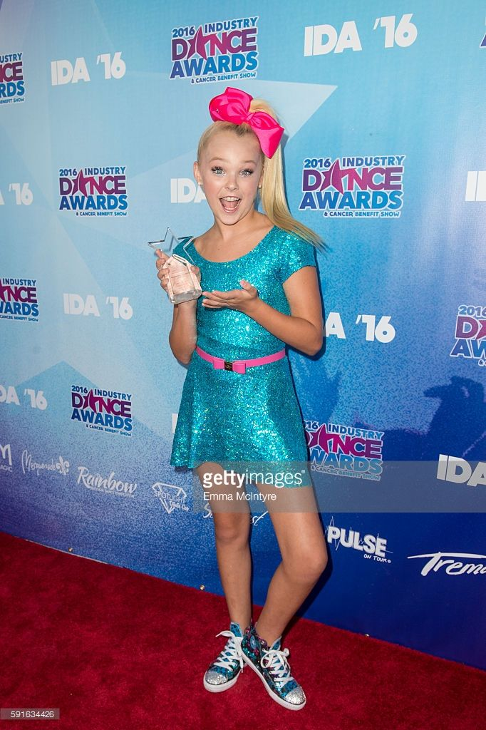 Dancer/tv personality JoJo Siwa arrives at the 2016 Industry Dance Awards and Cancer Benefit Show at Avalon on August 17, 2016 in Hollywood, California.