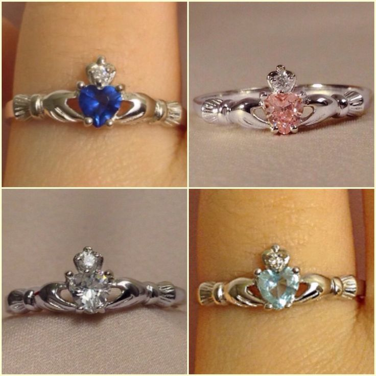 Assez The 25+ best Silver claddagh ring ideas on Pinterest | Irish heart  FJ51