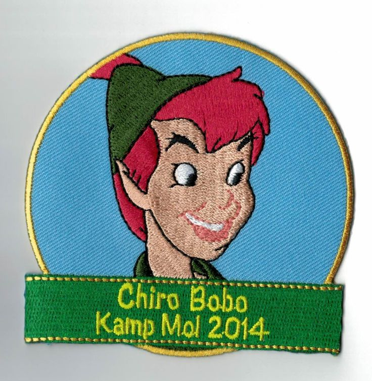 This patch looks sooooo good! My kids must have this. They can simply sew it on their uniforms. It's a nice camp memory! ***ibadge.com***
