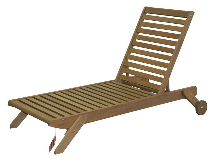 Timbo Mestra Hardwood Chaise Lounge. Timbo Mestra Hardwood Outdoor Patio Chaise Lounge in Brown. Solid Eucalyptus Wood, a fast growing renewable tropical hardwood. Butzke, the manufacturer of the Timbo brand, is a FSC certified manufacturer using only plantation grown eucalyptus. Made in Brazil. Designed for outdoor use. Eucalyptus is naturally resistant to the weather with rich brown tones and a straight, light wood grain similar to teak. Eucalyptus will weather to a natural silvery gray...