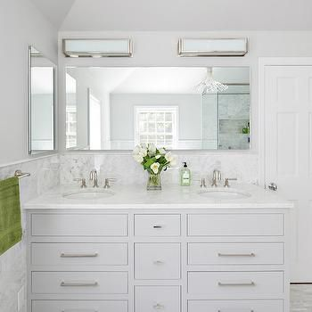 Photo Album Website Light Gray Bathroom Vanity Contemporary Bathroom Clean Design Partners