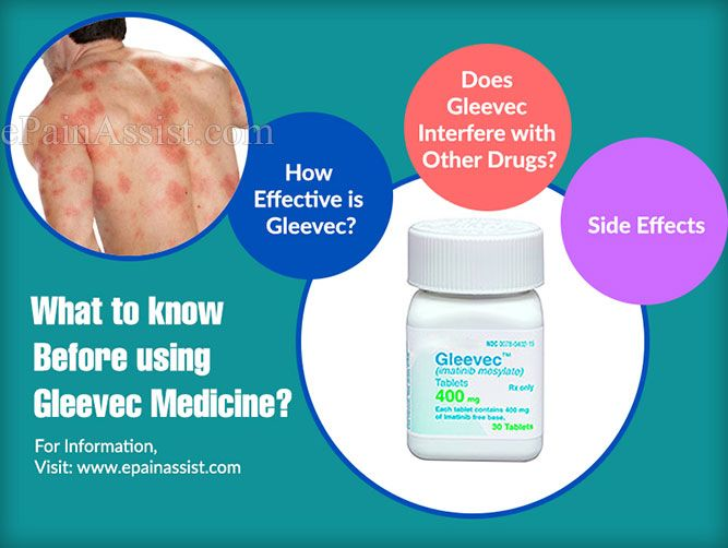 How Effective Is Gleevec What Are Its Side Effects Cancer You