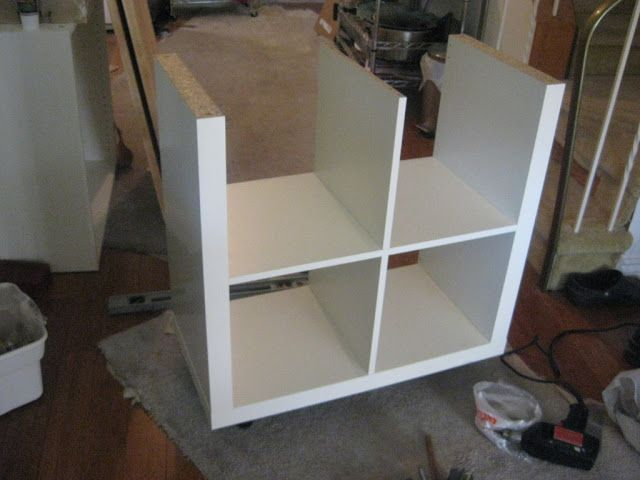 1000 images about ikea hackers on pinterest built in - Ikea expedit rollen ...