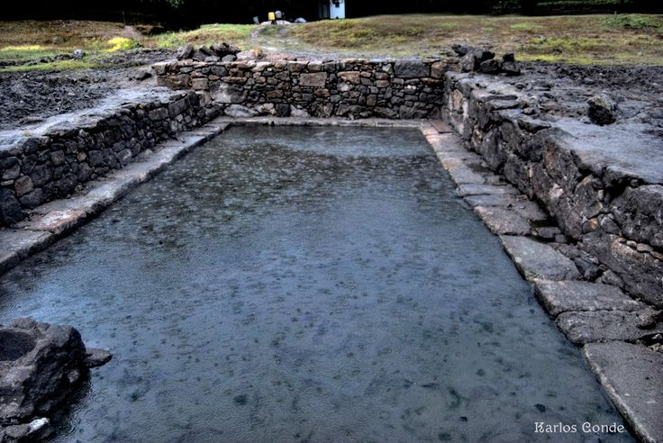 Baños Romanos Ourense:Campamento romano Aquis Querquennis – Baños de Bande – Piscina