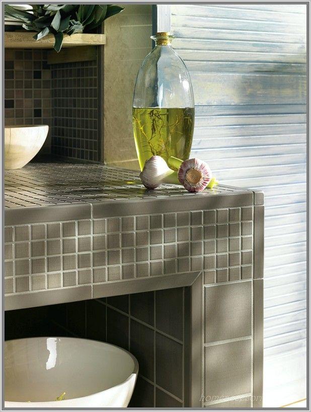 Anthrazit Bad Mit Mosaik Individuelle Küchenfliesen Von Jasba
