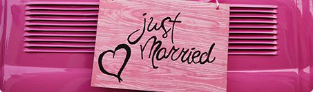 New look, New features! Free wedding themed website!