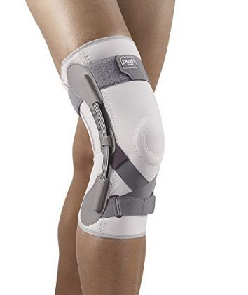 """""""The Push Med Knee Brace provides more support with less bulk. Push Braces utilize Sympress technology. Microfibers in Sympress create a soft, comfortable feel against the skin while wicking away moisture. The Push med Knee Brace can be machine washed on gentle cycle at low temperature."""""""