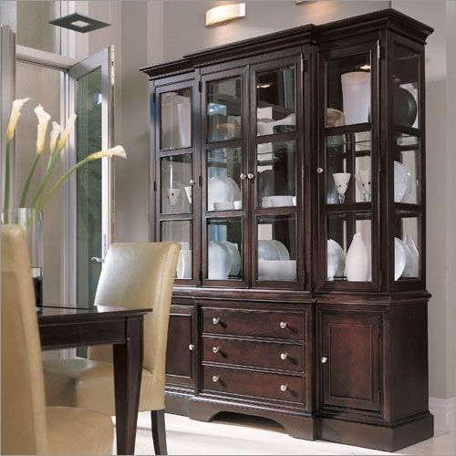 modern china cabinet display ideas cabinets and hutches add depth excitement room home