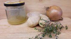 Die Kinderkueche: Uralte Hausmittelchen gegen Grippe und Erkältung / Zwiebelsud kochen / Rezept