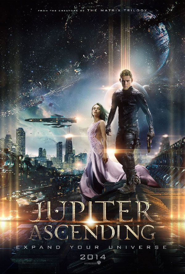 I think this movie was underrated honestly. The only thing I didn't like was the casting decision of Mila Kunis. I would've settled for anybody else...except for Kirsten Stewart. The Wachowski Brother's Jupiter Ascending (2015)