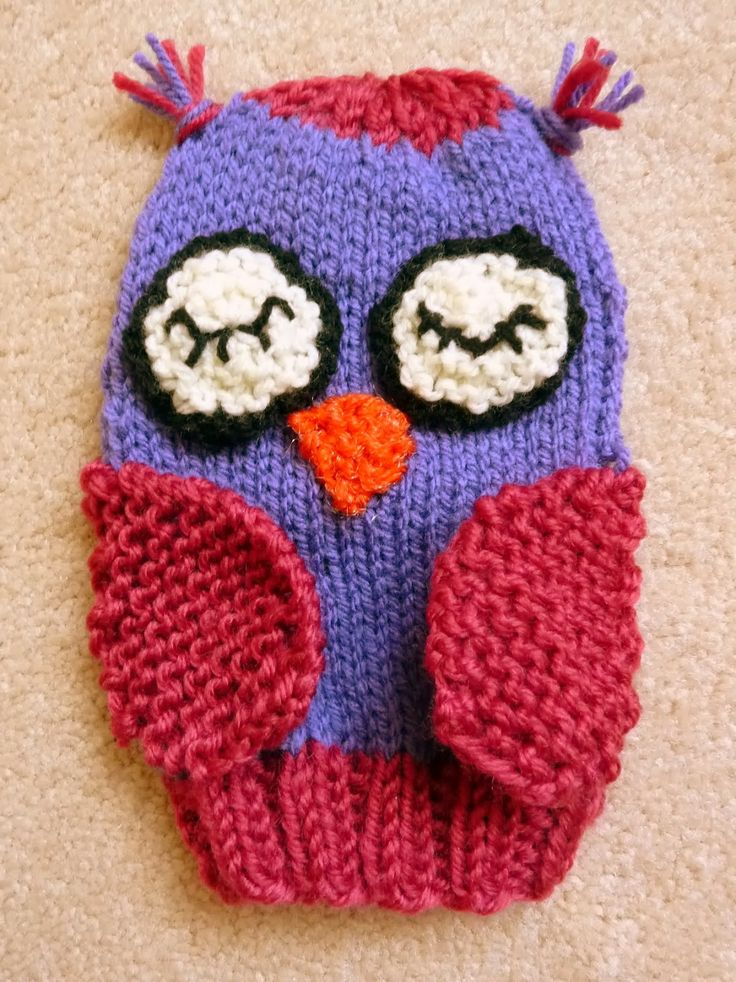 Musings of the Puppet Lady: Owl Puppet Knitting Pattern
