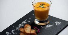 Тыквенный суп-капучино с хрустящими тостами