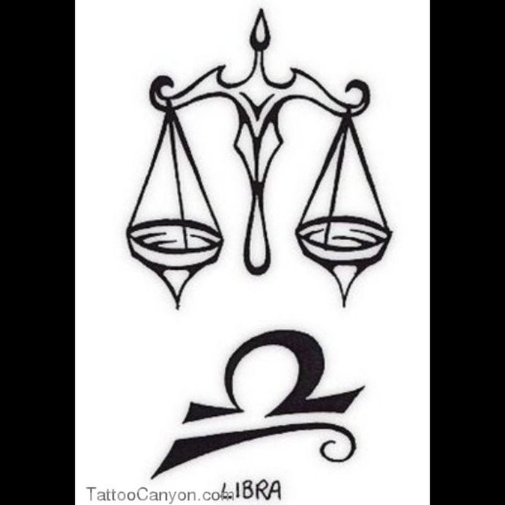Celtic Libra Tattoo Designs Popular libra zodiac tattoos