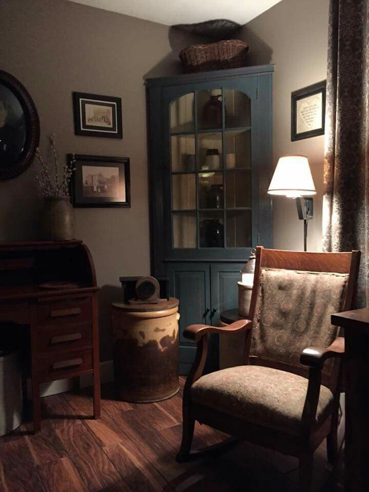 17 Best Images About Primitive Living Rooms On Pinterest Country Sampler P