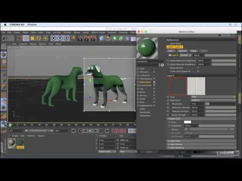 CINEMA 4D R18 New Features | Session 13 Inverse in the Ambient Occlusion shader - YouTube