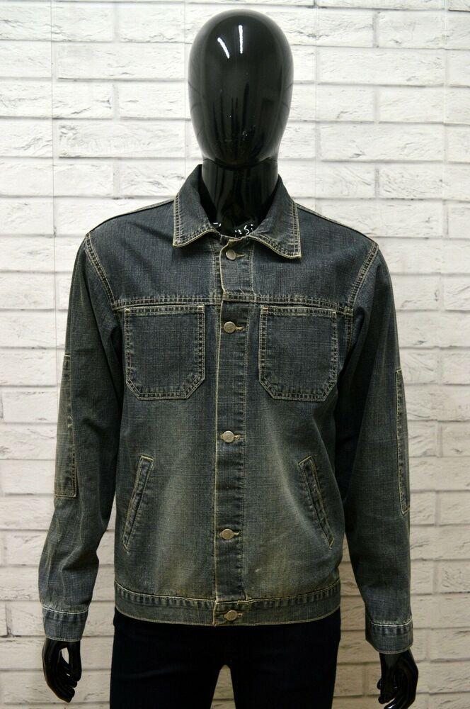 buy online 35b70 8083e Giubbino Jeans DIESEL Uomo Taglia L Giubbotto Giacca Jacket ...