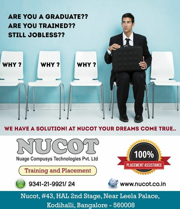 We Are The Best Training Institute In Bangalore With 100 Job Guarantee Courses Training For It Freshers 100 Job Placement Guaran Job Placement Job Training