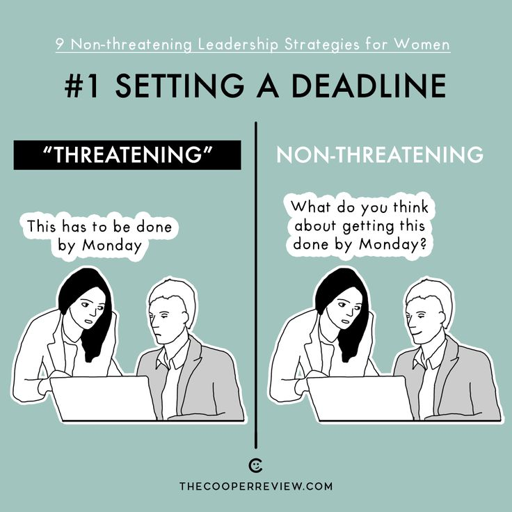 """When you have to alter your leadership style to account for the (sometimes) fragile male ego.""""These Cartoons Explain 9 Hilarious 'Non-Threatening' Leadership Strategies For Women 
