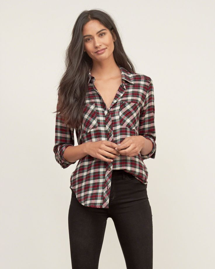 18 best images about becky fashion ideas on pinterest for Womens christmas flannel shirt