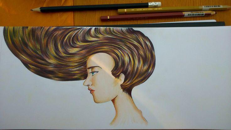 lápiz pasta y colores