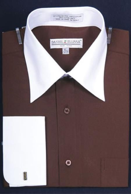 64 best dress shirts images on pinterest dress shirts for Big and tall french cuff dress shirts