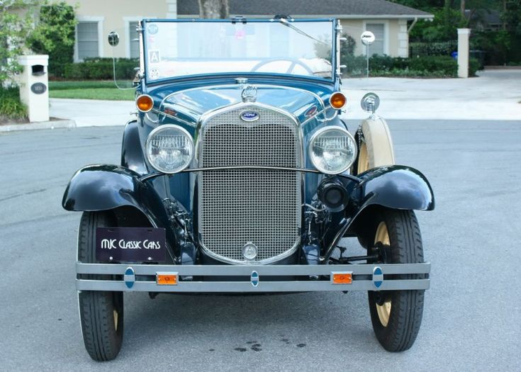 1930 Ford Model A Roadster | MJC Classic Cars | Pristine Classic Cars For Sale -…
