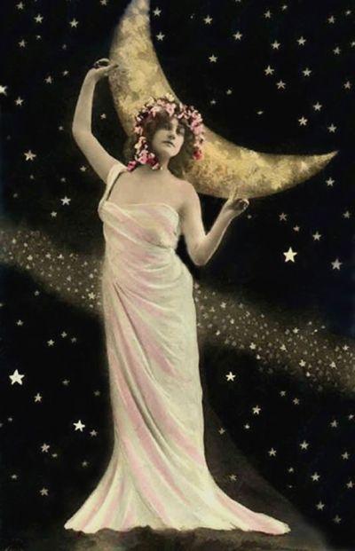Vintage Celestial Beauty -