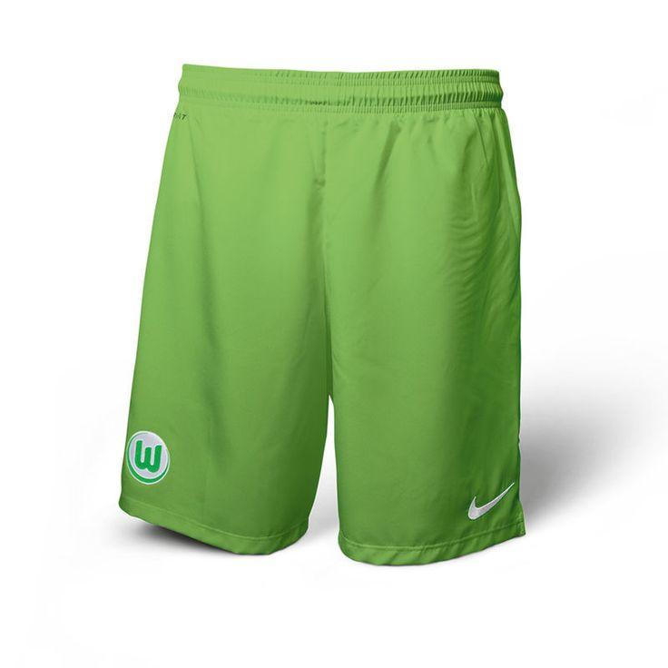 VfL Wolfsburg Nike Youth 2016/17 Away Shorts - Green