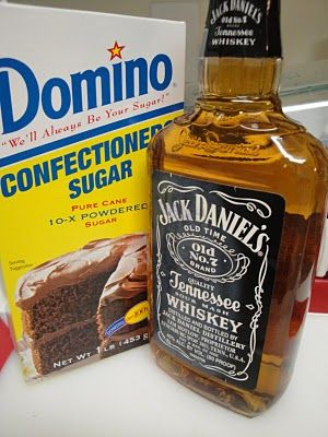 Jack Daniels Buttercream Frosting